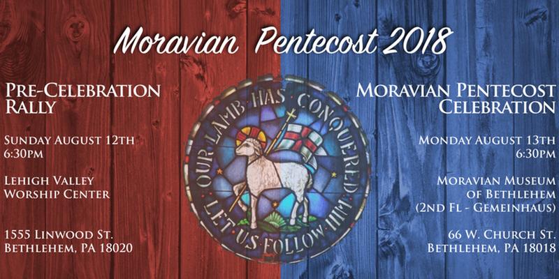 Moravian Pentecost 2018 Slider